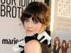 Zooey Deschanel attends the premiere of 'Our Idiot Brother'