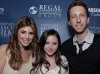 NEWPORT BEACH, CA - APRIL 26: Jamie-Lynn Sigler, Rachel G. Fox and Joel David Moore attend the World Premiere of 'Jewtopia' at the Newport Beach Film Festival at Edwards Big Newport 300 on April 26, 2012 in Newport Beach, California. (Photo by Tiffany Rose/WireImage)