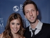 NEWPORT BEACH, CA - APRIL 26: Actress Jamie-Lynn Sigler and actor Joel David Moore attend the World Premiere of 'Jewtopia' at the Newport Beach Film Festival at Edwards Big Newport 300 on April 26, 2012 in Newport Beach, California. (Photo by Tiffany Rose/WireImage)