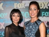 Tamara Taylor and Michaela Conlin