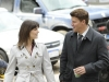 BONES:  Brennan (Emily Deschanel, L) and Booth (David Boreanaz, R) investigate the death of a man thought to be killed by a mythical Chupacabra in