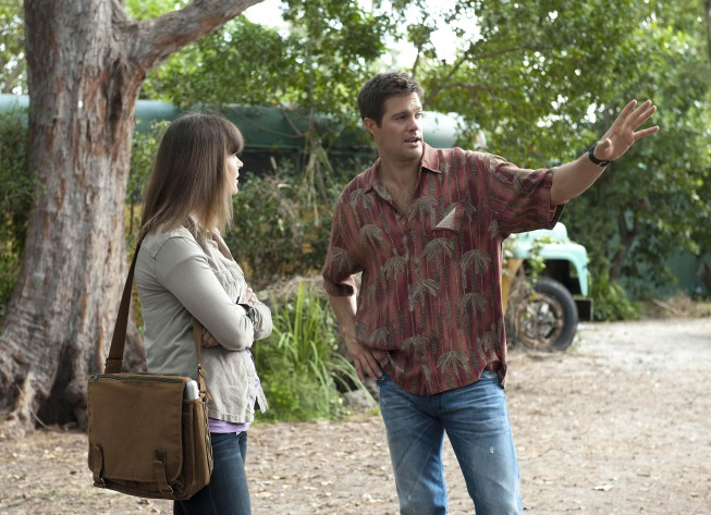 Walter Sherman (Geoff Stults) is the 'Finder'