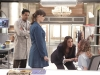 BONES:  When a 15-year-old Jane Doe (guest star McKenzie Applegate, R) is found on the streets, it is up to Brennan (Emily Deschanel, second from L), Jeffersonian Intern Arastoo Vaziri (guest star Pej Vahdat, L) and the entire Jeffersonian team with the help of a Child Protective Services Agent (guest star Michelle Gardner, second from R) to figure out her history and if she is responsible for a recent murder in