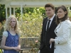 BONES:  Brennan (Emily Deschanel, R) and Booth (David Boreanaz, C) help reunite a Jane Doe (guest star McKenzie Applegate, L) with her family in