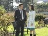BONES:  Brennan (Emily Deschanel, R) and Booth (David Boreanaz, L) help reunite a Jane Doe with her family in