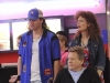 BONES:  Max (guest star Ryan O'Neal, C) helps Brennan (Emily Deschanel, R) and Booth (David Boreanaz, L) when they go undercover at a bowling alley in