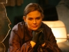 BONES:  Brennan (Emily Deschanel) examines remains at a crime scene in
