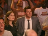 BONES:  Brennan (Emily Deschanel, L) and Booth (David Boreanaz, R) attend the Gluttony Games, an eating contest, in