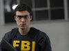 BONES:  Sweets (John Francis Daley) takes his gun certification test in
