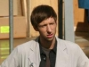 BONES - Behind The Scenes:  Hodgins (TJ Thyne, L) and Jeffersonian intern Colin Fisher (Joel David Moore, R)