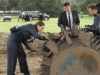 BONES:  L-R:  Brennan (Emily Deschanel), Booth (David Boreanaz), Hodgins (TJ Thyne) and Cam (Tamara Taylor) investigate remains found at a farm in the