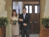 BONES:  Booth (David Boreanaz, R) gets ready to walk his mother (guest star Joanna Cassidy, L) down the aisle in the