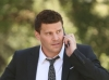 BONES: Booth (David Boreanaz, C) investigates the murders of several FBI agents with whom he was close in the