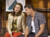 "BONES:  Brennan (Emily Deschanel, L) and Booth (David Boreanaz, R) go undercover at a marriage retreat as previous personas ""Roxie"" and ""Tony""  in the ""The Cheat in the Retreat"" episode of BONES airing Monday, Sept. 23 (8:00-9:00 PM ET/PT) on FOX. ©2013 Fox Broadcasting Co.  Cr:  Jennifer Clasen/FOX"