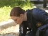 "BONES:  Brennan (Emily Deschanel) investigates remains that were found being eaten by bobcats in the ""The Cheat in the Retreat"" episode of BONES airing Monday, Sept. 23 (8:00-9:00 PM ET/PT) on FOX.  ©2013 Fox Broadcasting Co.  Cr:  Patrick McElhenney/FOX  ©2013 Fox Broadcasting Co.  Cr:  Patrick McElhenney/FOX"