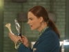 "BONES:  Brennan (Emily Deschanel) finds a clue from Pelant in the ""The Sense in the Sacrifice"" episode of BONES airing Monday, Oct. 7 (8:00-9:00 PM ET/PT) on FOX.  ©2013 Fox Broadcasting Co.  Cr:  Patrick McElhenney/FOX"