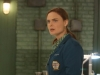 "BONES:  Brennan (Emily Deschanel) is surprised by an unexpected visitor in the ""The Sense in the Sacrifice"" episode of BONES airing Monday, Oct. 7 (8:00-9:00 PM ET/PT) on FOX.  ©2013 Fox Broadcasting Co.  Cr:  Patrick McElhenney/FOX"