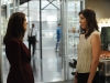 "BONES:  Brennan (Emily Deschanel, L) asks Angela (Michaela Conlin, R) to be her Maid of Honor in the ""The Lady on the List"" episode of BONES airing Monday, Oct. 14  (8:00-9:00 PM ET/PT) on FOX.  ©2013 Fox Broadcasting Co.  Cr:  Ray Mickshaw/FOX"