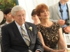 "BONES:  Ralph Waite (L) and Joanna Cassidy (R) guest-star in the ""The Woman in White"" episode of BONES airing Monday, Oct. 21 (8:00-9:00 PM ET/PT) on FOX.  ©2013 Fox Broadcasting Co.  Cr:  Ray Mickshaw/FOX"