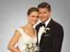 "BONES:  BONES: Brennan (Emily Deschanel, L) and Booth (David Boreanaz, R) are married in the ""The Woman in White"" episode of BONES airing Monday, Oct. 21 (8:00-9:00 PM ET/PT) on FOX. ©2013 Fox Broadcasting Co. Cr: Patrick McElhenney/FOX"