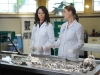 "BONES:  While on her honeymoon in Buenos Aires, Brennan (Emily Deschanel, R) takes on a case and works with local forensic anthropologist Dr. Leticia Perez (guest star Angela Alvarado Rosa, L) in the ""The Nazi on the Honeymoon"" episode of BONES airing Monday, Nov. 4 (8:00-9:00 PM ET/PT) on FOX.  ©2013 Fox Broadcasting Co.  Cr:  Ray Mickshaw/FOX"