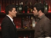 "BONES:  Booth (David Boreanaz, L) questions a suspect (guest star Robert Baker, R) in the ""Big in the Philippines"" episode of BONES airing Friday, Jan. 17 (8:00-9:00 PM ET/PT) on FOX.  ©2013 Fox Broadcasting Co.  Cr:  Patrick McElhenney/FOX"