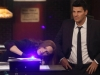 "BONES:  Brennan (Emily Deschanel, L) and Booth (David Boreanaz, R) investigate evidence found at a bar in the ""Big in the Philippines"" episode of BONES airing Friday, Jan. 17 (8:00-9:00 PM ET/PT) on FOX.  ©2013 Fox Broadcasting Co.  Cr:  Patrick McElhenney/FOX"