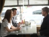"BONES:  Brennan (Emily Deschanel, L) and Booth (David Boreanaz, C) have some information to share with Jeffersonian intern Wendall Bray (guest star Michael Grant Terry, R) about his future in the ""Big in the Philippines"" episode of BONES airing Friday, Jan. 17 (8:00-9:00 PM ET/PT) on FOX.  ©2013 Fox Broadcasting Co.  Cr:  Patrick McElhenney/FOX"
