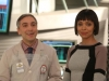 "BONES:  Cam (Tamara Taylor, R) introduces forensic podiatrist Dr. Douglas Filmore (guest star Scott Lowell, L) to the Jeffersonian team in the ""The Master in the Slop"" episode of BONES airing Friday, Jan. 24 (8:00-9:00 PM ET/PT) on FOX.  ©2013 Fox Broadcasting Co.  Cr:  Patrick McElhenney/FOX"