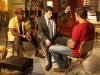 THE FINDER:  Leo (Michael Clarke Duncan, L) watches as Walter (Geoff Stults, R) is hypnotized by Dr. Lance Sweets (guest star John Francis Daley of BONES, C) in the