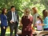 "BONES: Believing they may be a link to their current case, Brennan (Emily Deschanel, L) and Booth (David Boreanaz, second from L) interview mothers on a play date at a local park in the ""The Dude in the Dam"" episode of BONES airing Monday, Nov. 11 (8:00-900 PM ET/PT) on FOX.  ©2013 Fox Broadcasting Company.  Cr:  Ray Mickshaw/FOX"
