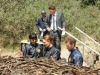 "BONES:  Brennan (Emily Deschanel, second from L), Booth (David Boreanaz, second from R), Cam (Tamara Taylor, R) and Hodgins (TJ Thyne, R) investigate remains found in a beaver dam in the ""The Dude in the Dam"" episode of BONES airing Monday, Nov. 11 (8:00-900 PM ET/PT) on FOX.  ©2013 Fox Broadcasting Company.  Cr:  Ray Mickshaw/FOX"
