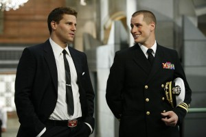 Seeley Booth (David Boreanaz) & Jared Booth (Brendan Fehr) on Bones