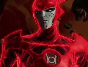 Red Lantern leader Atrocitus from Green Lantern: The Animated Series