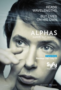 Gary Bell (Ryan Cartwright) in Alphas Season 2