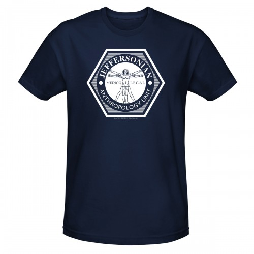 Jeffersonian Anthropology Unit T-Shirt